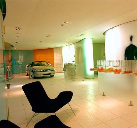 lichtdesign f r saab ausstellungsr ume as systems. Black Bedroom Furniture Sets. Home Design Ideas